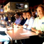 Zerust Oil & Gas team gathered for dinner at the Boulevard Bar & Grille in Minnesota.