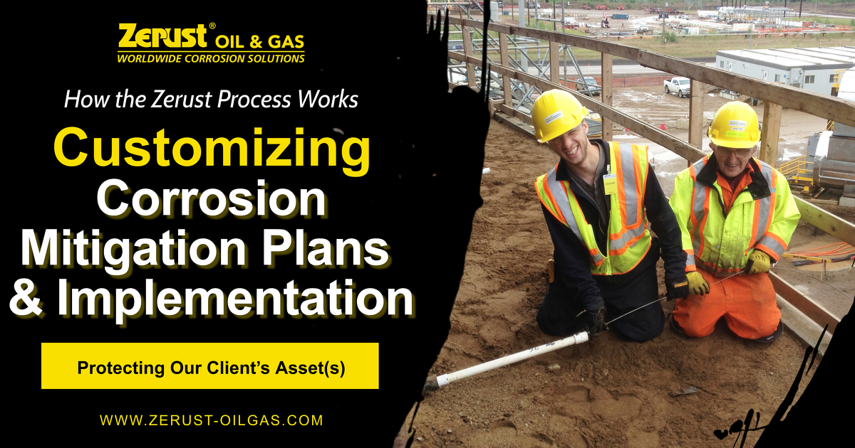 Zerust Corrosion Mitigation Plan Process